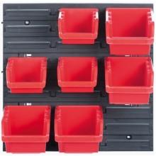 Kistenberg ORDERLINE Závěsný panel se 7 boxy na nářadí, 40x19,5x40cm KOR5