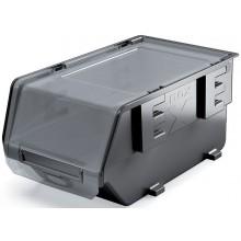 Kistenberg EXE PLUS Plastový úložný box zavíratelný, 39,3x28,3x19,2cm, černá KEX40F-S411
