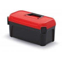 Kistenberg SMART Kufr na nářadí 50x25,1x24,3cm, černá/červená KSM50