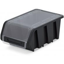 Kistenberg TRUCK PLUS Plastový úložný box uzavíratelný, 49x29,8x21cm, černá KTR50F