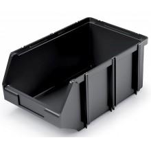 Kistenberg CLICK BOX Plastový úložný box, 22,5x14x9,5cm, černá KCB23-S411