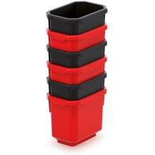 Kistenberg TITAN BOX Sada 6 plastových boxů, 11x7,5x26,3cm KTIS11