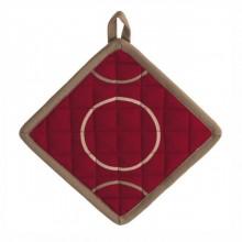 KELA Chňapka DIEGO 18x18 cm vínová KL-15579