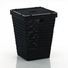 KELAKoš na prádlo NOBLESSE 40x40x53cm černýKL-20968