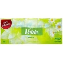 KLEENEX Welcomes Veltie Aroma Heřmánek Papírové kapesníčky (10 ks) 3710007