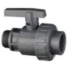 """Kulový kohout PVC-U s vnitřním a vnějším závitem I–A 1/2"""" 32VSI13F012"""