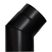 Koleno 120 síla 1,2mm 45 Save černé matné