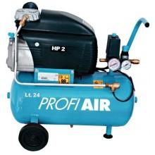 NUAIR - kompresor olejový 24 l 1,5kW PROFIAIR24OL