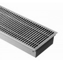Boki Podlahový konvektor bez ventilátoru 2500 x 290 x 140 mm pozink FMK-29-250-14-01