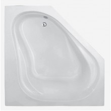 TEIKO Vana Korfu rohová 150x150 cm, akrylátová, bílá V111150N04T03001