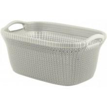 CURVER KNIT Koš na čisté prádlo, 40 L bílý 03677-X64