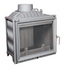 KRATKI Antek 10 kW krbová vložka teplovzdušná, rovné sklo