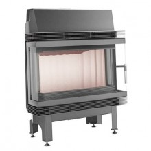 KRATKI BLANKA 670/570 12 kW, krbová vložka teplovzdušná, třístranné prosklení