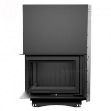 KRATKI MAJA/L/BS/G 12 kW krbová vložka teplovzdušná, levé prosklení s výsuvem
