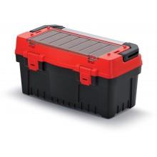 Kistenberg EVO Kufr na nářadí s kov. držadlem 59,4x28,8x30,8cm, červená KEVA6030S