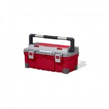 KETER kufřík HAWK EXTRA, 66 x 28,7 x 26,6 cm, červená/šedá/černá, 17181010