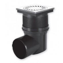 Kanalizační vpusť boční D 110 (KVB110V-N) vodní hladina, nerez 324V-N