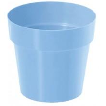 PROSPERPLAST IML květináč bez potisku 16 cm, světle modrá DR160