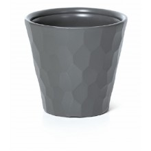 PROSPERPLAST ROCKA Květináč 34,5 cm, šedý kámen DBROC350
