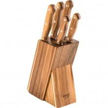 LAMART WOOD LT2080 set 5 nožů v bloku 42002449
