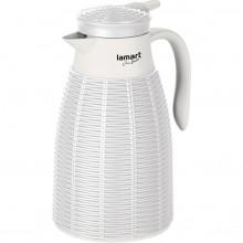LAMART LT4041 termoska 1L bílá ratan 42002607