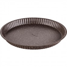 LAMART LT3087 MARBLE forma na koláč 31x3 cm hnědá