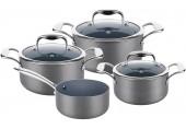 LAMART HARD SADA Hliníkového nádobí LTHSET7 set, 7ks, šedá, 42000586