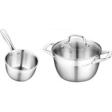 LAMART LT1036 Sada nádobí, nerez, 3ks 42001631