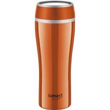 LAMART LT4026 Termohrnek 0,4L oranžová FLAC 42001288