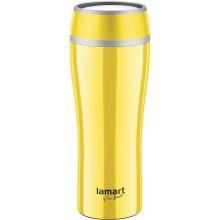 LAMART LT4027 Termohrnek 0,4L žlutá FLAC 42001289