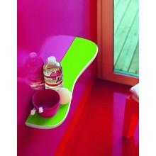 LAUFEN FLORAKIDS Keramická koupelnová polička pro děti, 55 cm, zelená