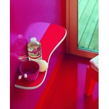 LAUFEN FLORAKIDS Keramická koupelnová polička pro děti, 55 cm, červená