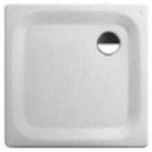 LAUFEN PLATINA Ocelová vanička čtvercová 80x80cm, bílá, 2.1500.1.000.040.1