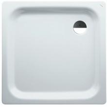 LAUFEN PLATINA Ocelová vanička čtvercová 100x100cm, bílá + AntiSlip, 2.1500.4.600.040.1