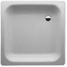 LAUFEN PLATINA Ocelová vanička čtvercová 80x80cm, bílá, 2.1501.1.000.040.1