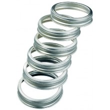LEIFHEIT Prstenec k zavařovacím sklenicím 12 ks 36401