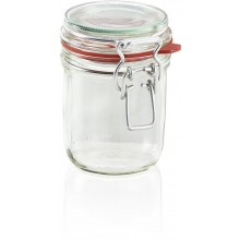LEIFHEIT zavařovací sklenice s klipem a těsnící gumou 370 ml 03192