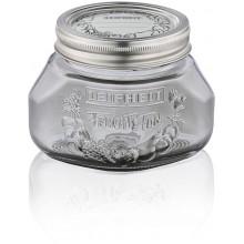 LEIFHEIT Set 3 ks zavařovacích sklenic 0,5 l smoky grey 36324