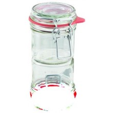 LEIFHEIT Zavařovací sklenice s klipem a těsnící gumou 135 ml 03190