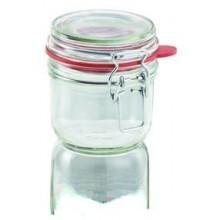 LEIFHEIT Zavařovací sklenice s klipem a těsnící gumou 255 ml 03191