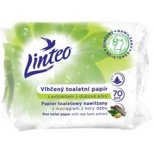 LINTEO Vhlčený toaletní papír Linteo s extraktem z dubové kůry 70ks 20863
