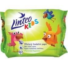 LINTEO KIDS Vlhčený toaletní papír Kids 60ks, 1-vrstvý 20864