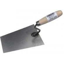 MAGG Stavební lžíce ocelová 130 mm, dřevěná rukojeť STSLFE130D