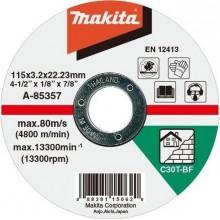 MAKITA A-85363 řezný kotouč 125x3x22mm kámen