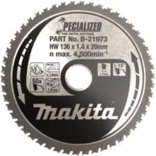 MAKITA B-21973 pilový kotouč 136x20mm 50Z