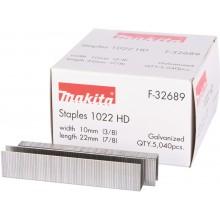MAKITA F-32689 Spona 10x22mm, 5.040 ks, T22 =old P-08997
