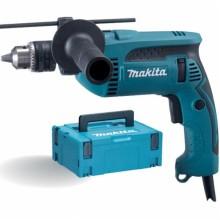 MAKITA HP1640J Příklepová vrtačka 1,5-13mm, 680W, MAKPAC