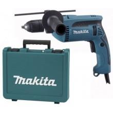 MAKITA Příklepová vrtačka s kufrem,rychlosklíčidlo 1,5-13mm,680W HP1641K