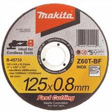 MAKITA řezný kotouč 125×0,8×22.23 mm nerez, B-45733