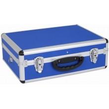 MAKITA hliníkový kufr na nářadí, 460x330x160 mm, modrá PRM10102BL